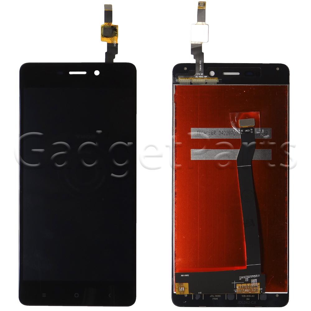 Модуль (дисплей, тачскрин) Xiaomi Redmi 4 Черный (Black)