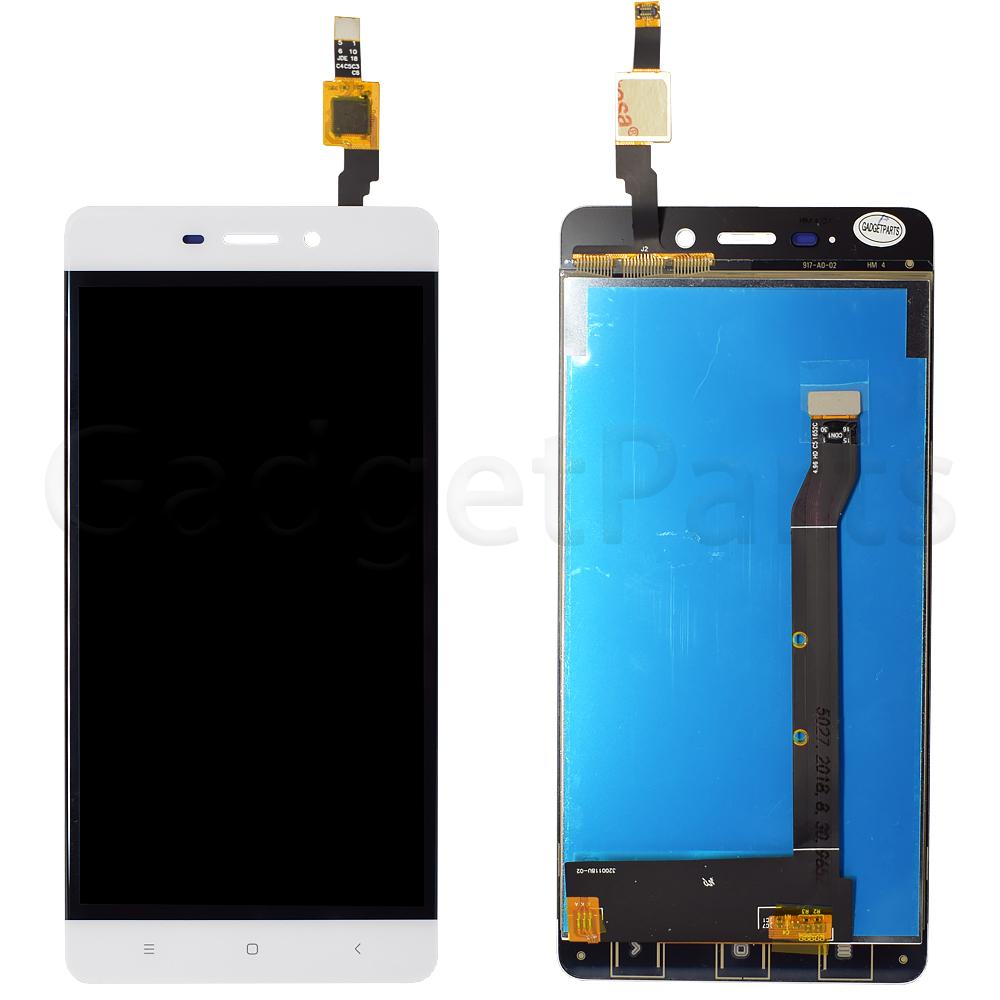 Модуль (дисплей, тачскрин) Xiaomi Redmi 4 Белый (White)