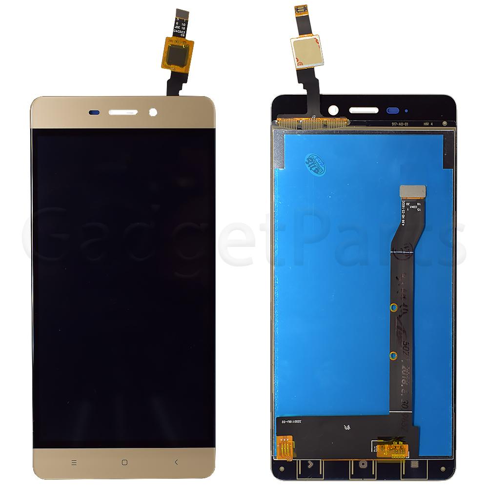 Модуль (дисплей, тачскрин) Xiaomi Redmi 4 Золотой (Gold)