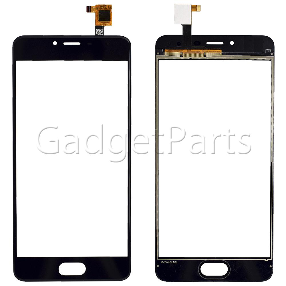 Сенсорно стекло, тачскрин Meizu M3s mini Черный (Black) Оригинал