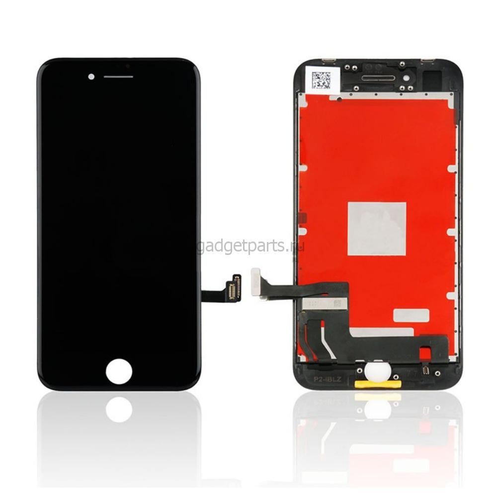 Модуль (дисплей, тачскрин, рамка) iPhone 8 Черный (Black) HQ