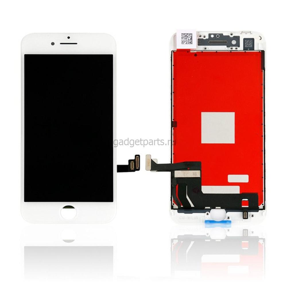 Модуль (дисплей, тачскрин, рамка) iPhone 8 Белый (White) HQ