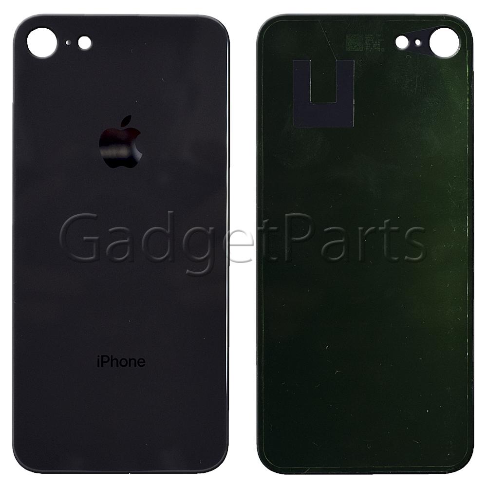 Задняя крышка iPhone 8 Черная (Space Gray, Black)
