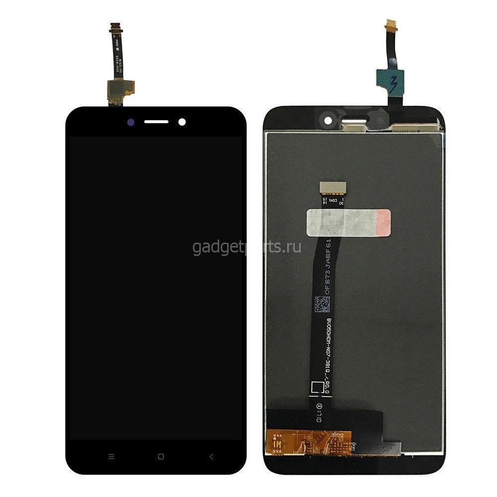 Модуль (дисплей, тачскрин) Xiaomi Redmi 4X Черный (Black) Оригинальная матрица