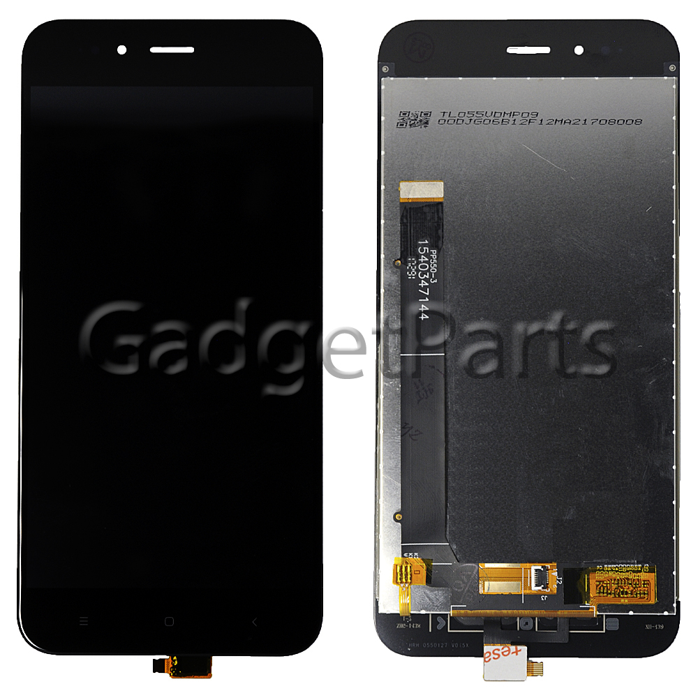 Модуль (дисплей, тачскрин) Xiaomi Mi 5X, Mi A1 Черный (Black) Оригинальная матрица