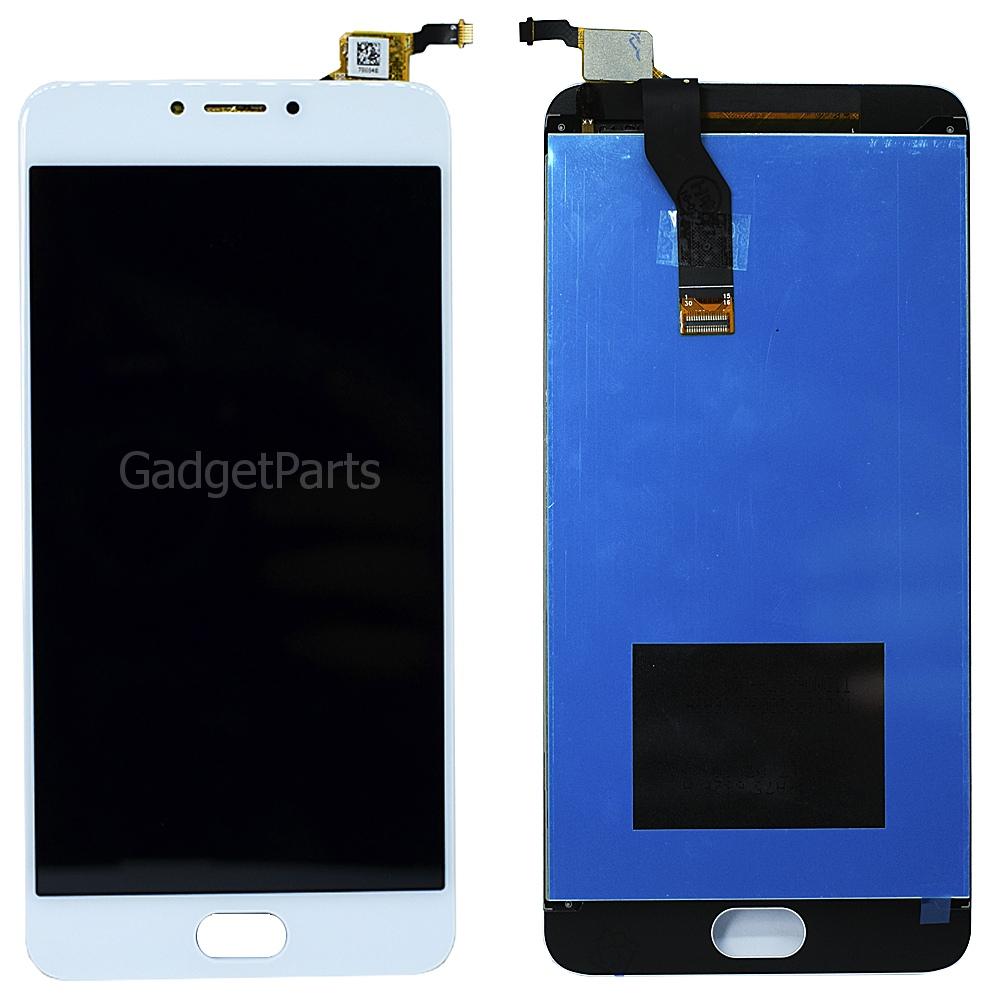 Модуль (дисплей, тачскрин) Meizu M3 Note (L681H) Белый (White) Оригинал