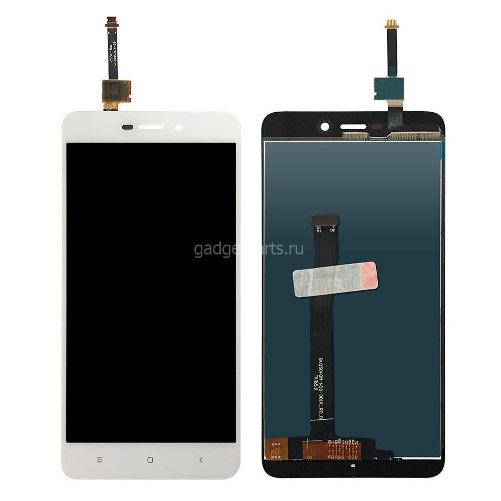 Модуль (дисплей, тачскрин) Xiaomi Redmi 4A Белый (White)