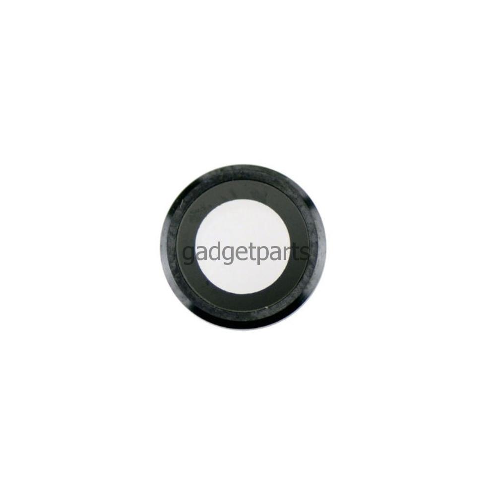 Стекло задней камеры в сборе iPhone 6 Plus, 6S Plus Черное (Space Gray, Black)