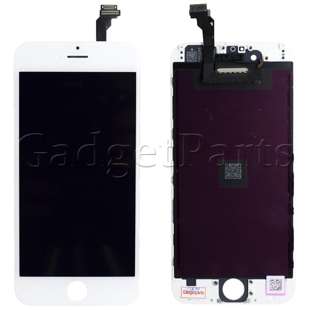 Модуль (дисплей, тачскрин, рамка) iPhone 6 Белый (White) OEM