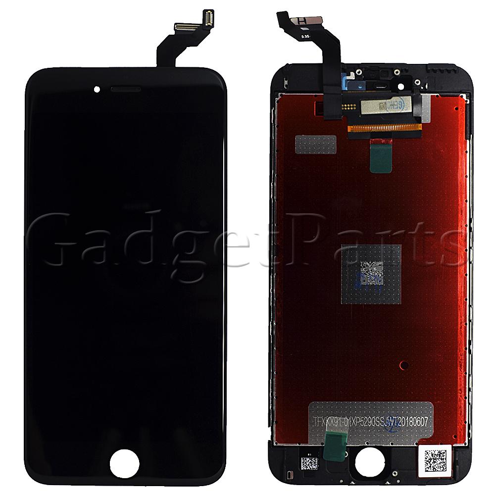Модуль (дисплей, тачскрин, рамка) iPhone 6S Plus Черный (Black) OEM