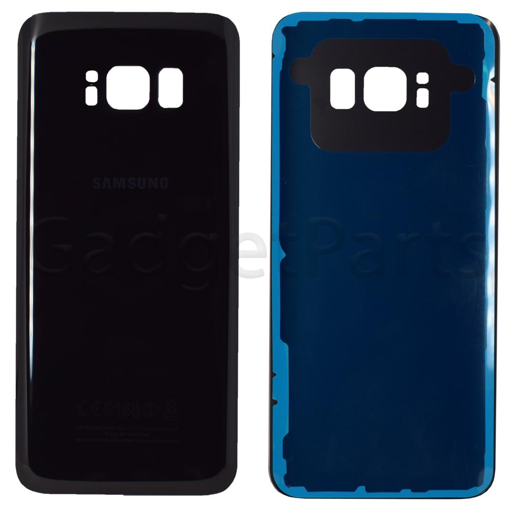 Задняя крышка Samsung Galaxy S8, G950F Черная (Black) Оригинал