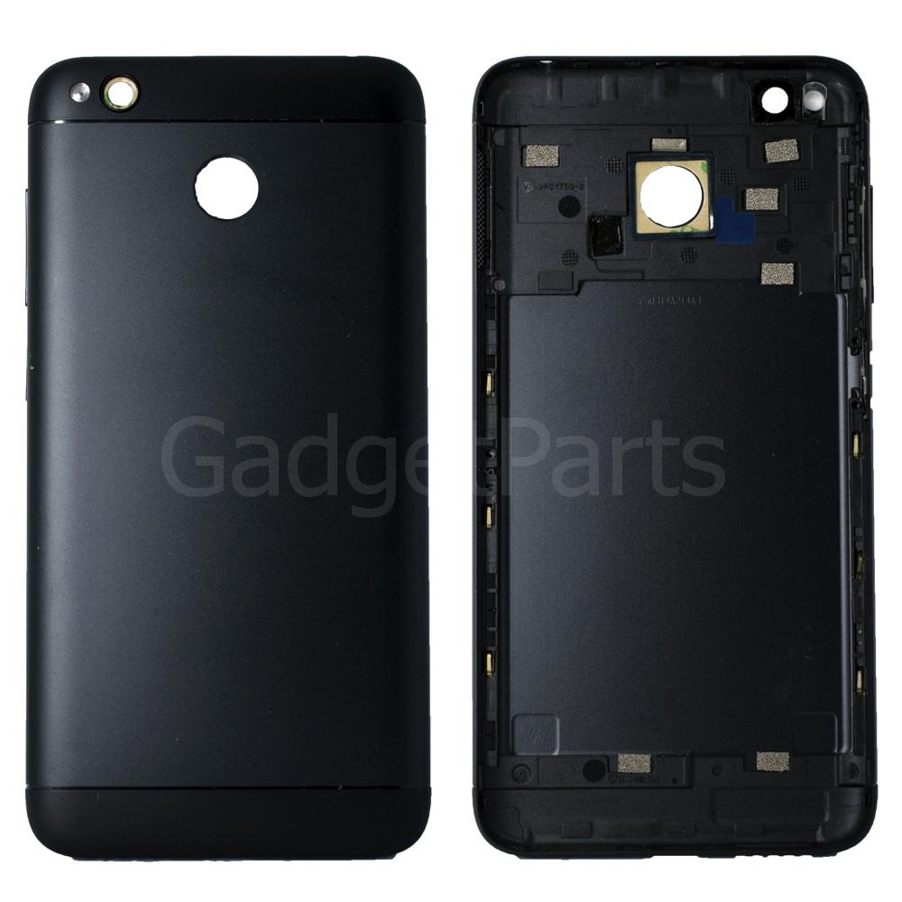 Задняя крышка Xiaomi Redmi 4X Черная (Black)