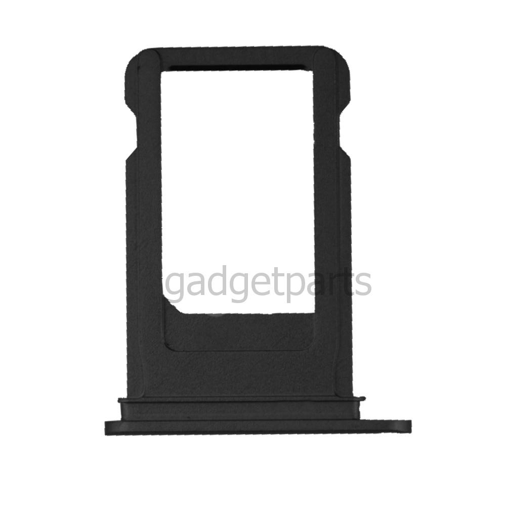 Сим-лоток iPhone X Черный (Black)