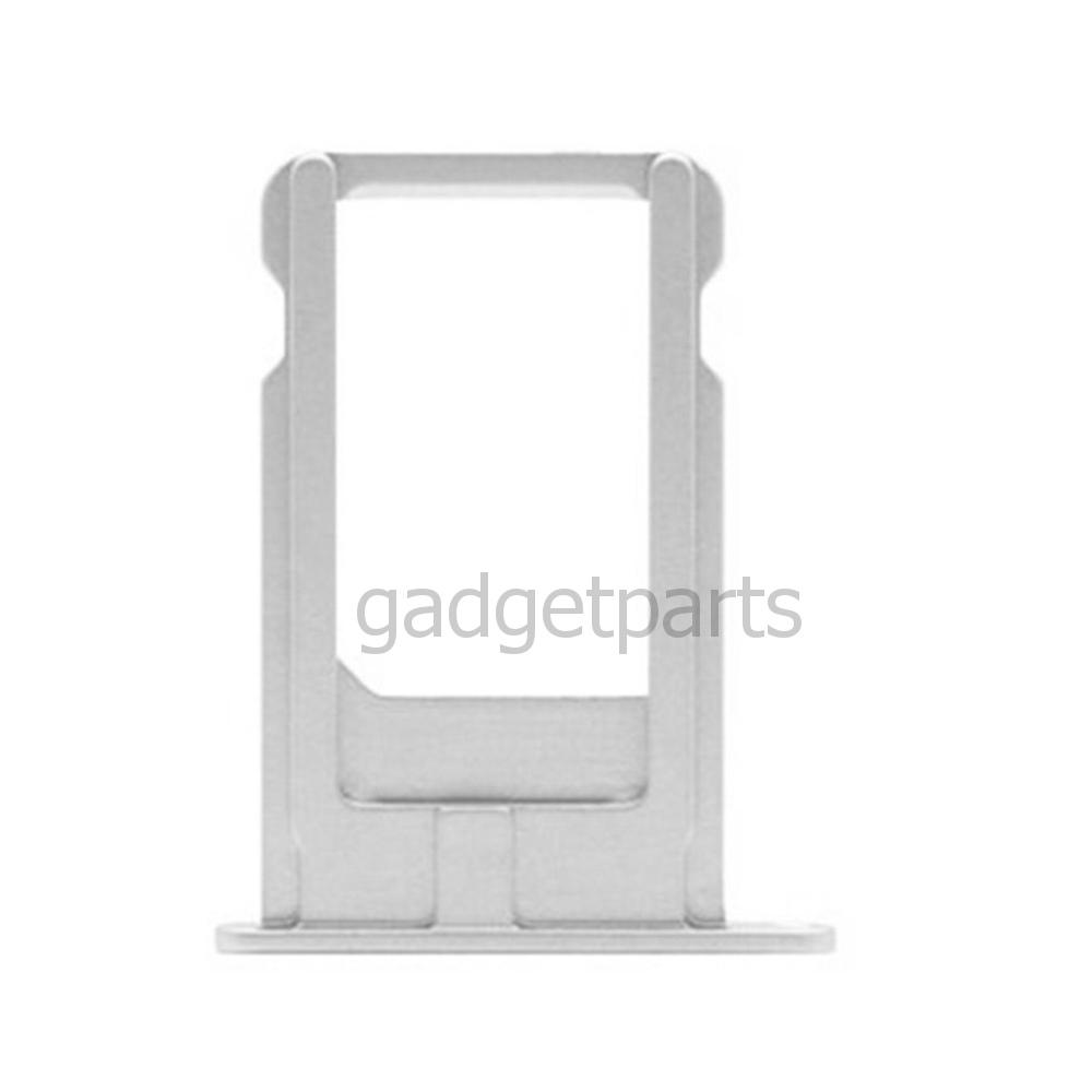 Сим-лоток iPhone X Серебряный, Белый (Silver, White)