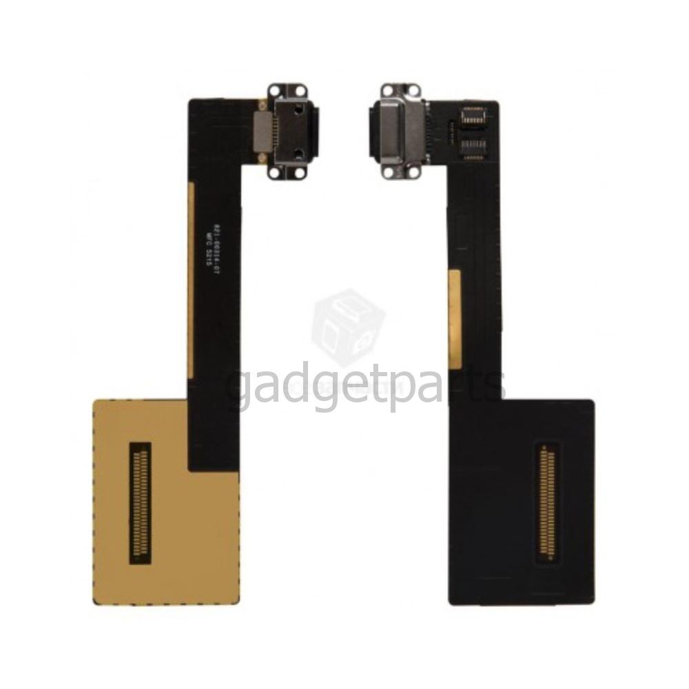 Нижний шлейф зарядки iPad Pro 9,7 Черный (Black)