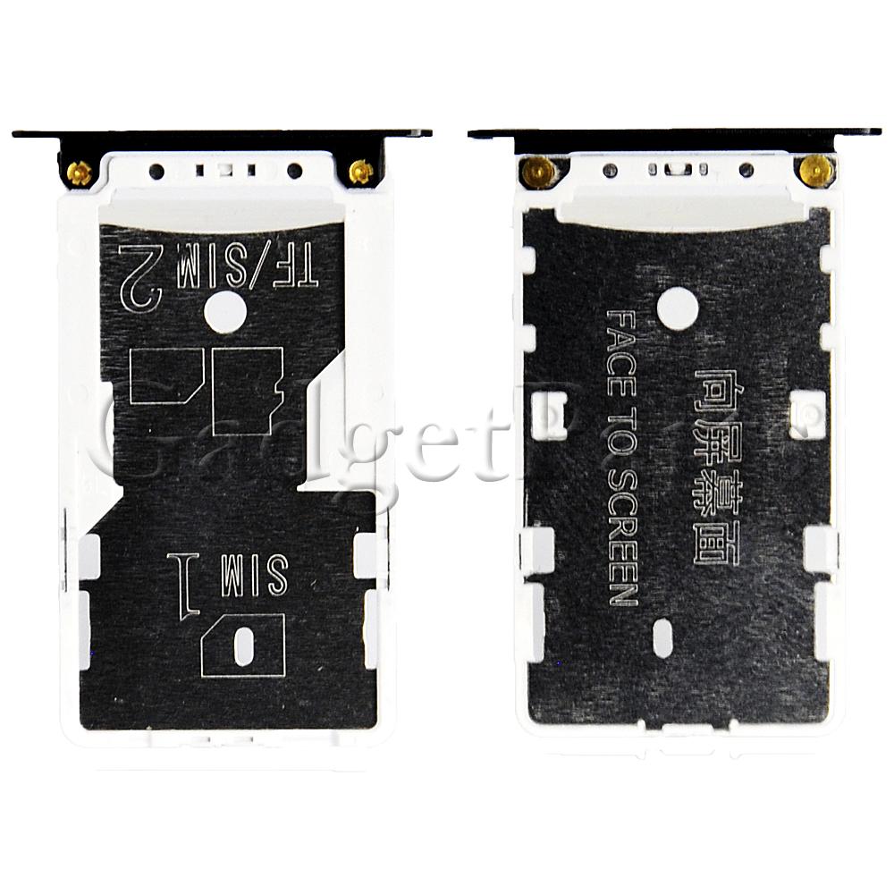 Сим-лоток Xiaomi Redmi 4XЧерный (Black)