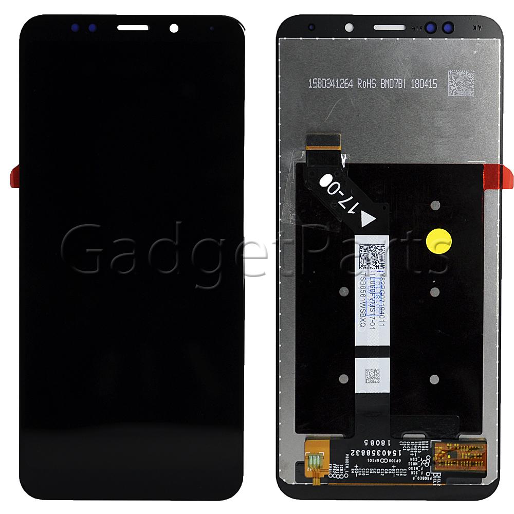 Модуль (дисплей, тачскрин) Xiaomi Redmi 5 Plus Черный (Black) Оригинал
