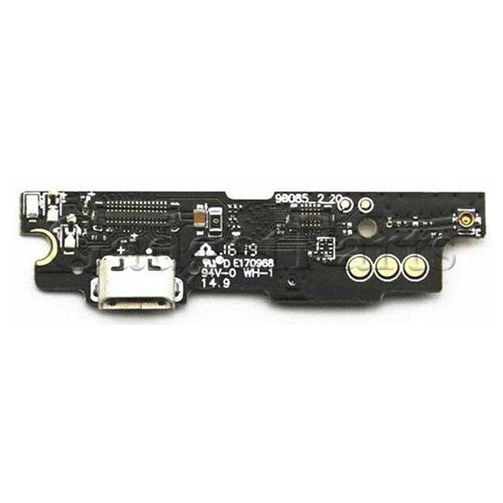 Нижний шлейф с разъемом зарядки, вибро и микрофоном Meizu M3 Note, L681H