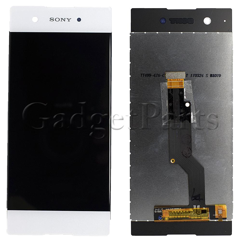Модуль (дисплей, тачскрин) Sony Xperia XA1, G3116 Белый (White) Оригинал