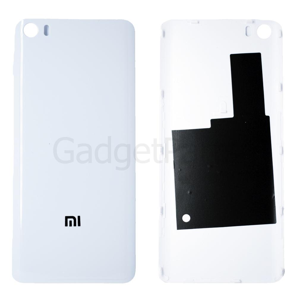 Задняя крышка Xiaomi Mi5 Белая (White)