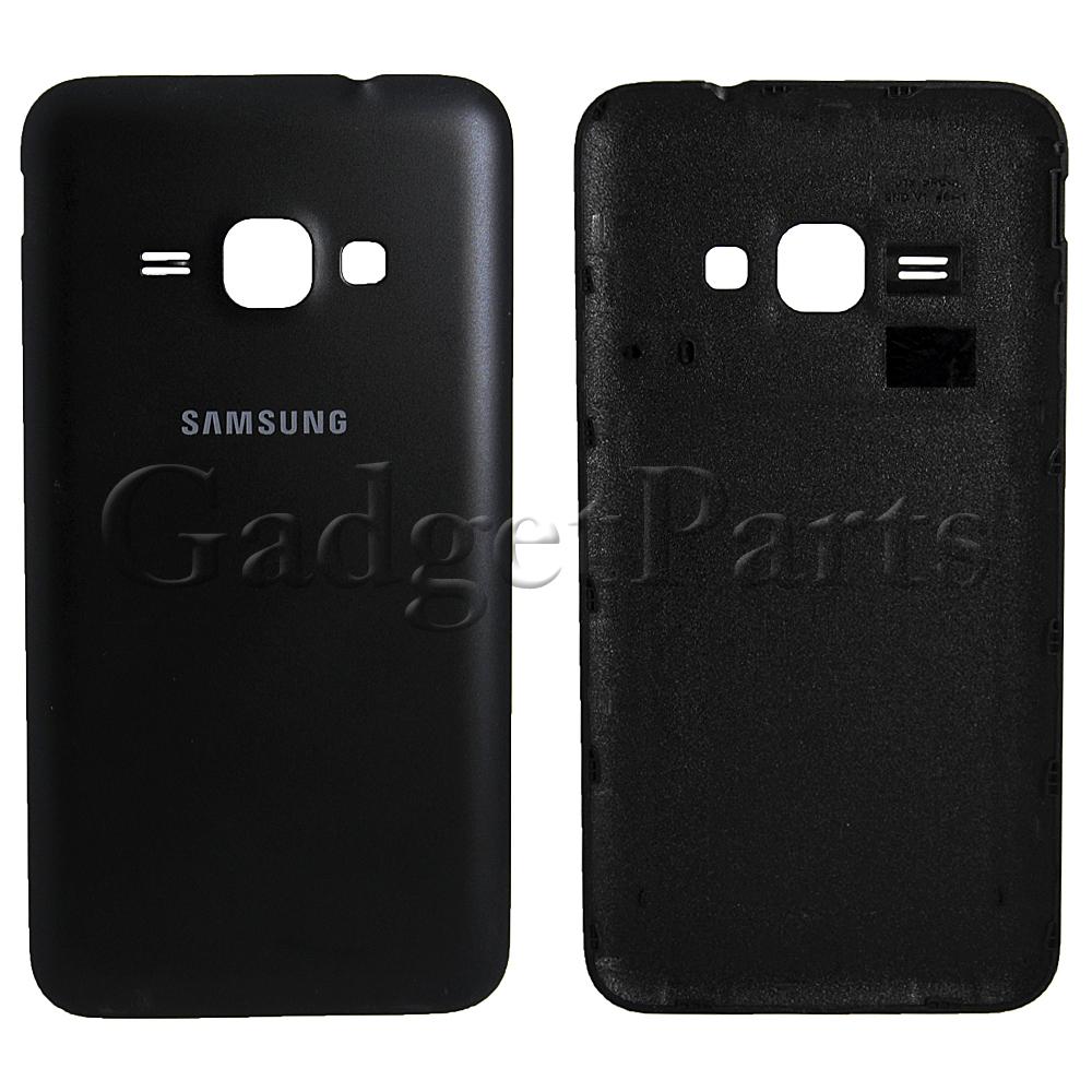 Задняя крышка Samsung Galaxy J1 2016, SM-J120F Черная (Black) Оригинал