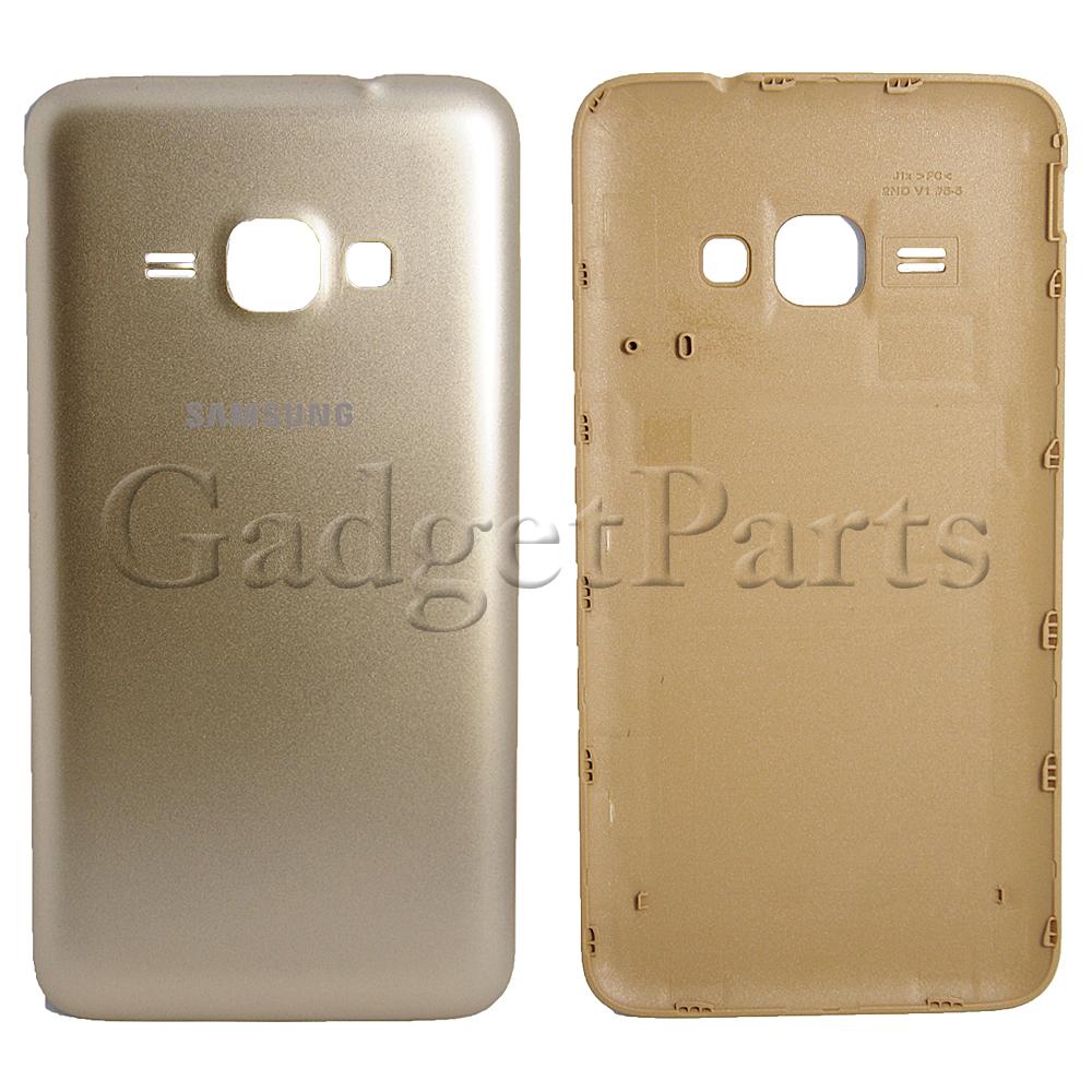 Задняя крышка Samsung Galaxy J1 2016, SM-J120F Золотая (Gold) Оригинал