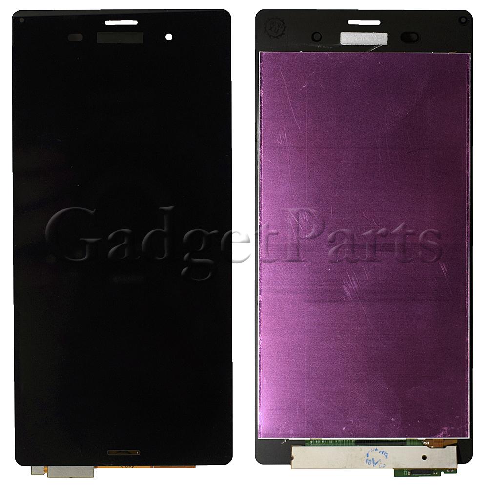 Модуль (дисплей, тачскрин) Sony Xperia Z3, Z3 Dual, D6603, D6633 Черный (Black) Оригинал