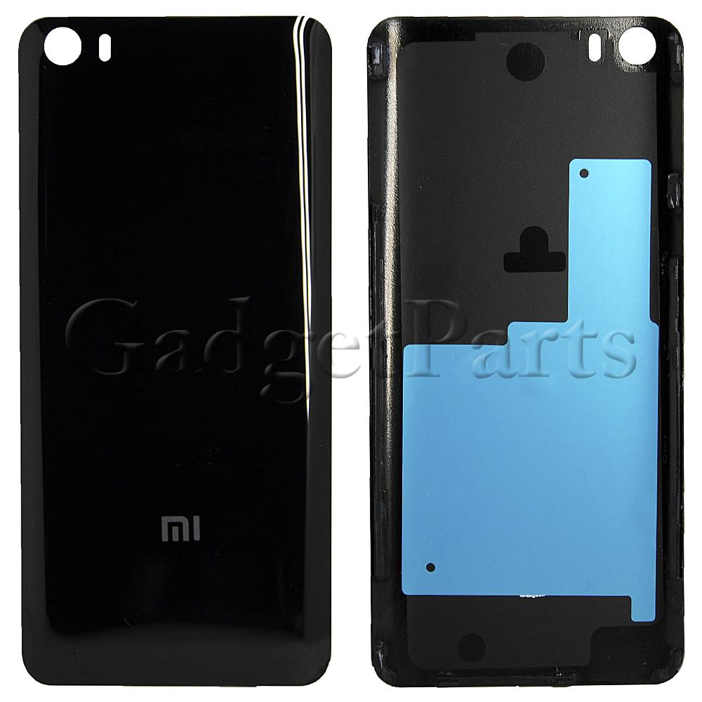 Задняя крышка Xiaomi Mi5 Черная (Black) Оригинал