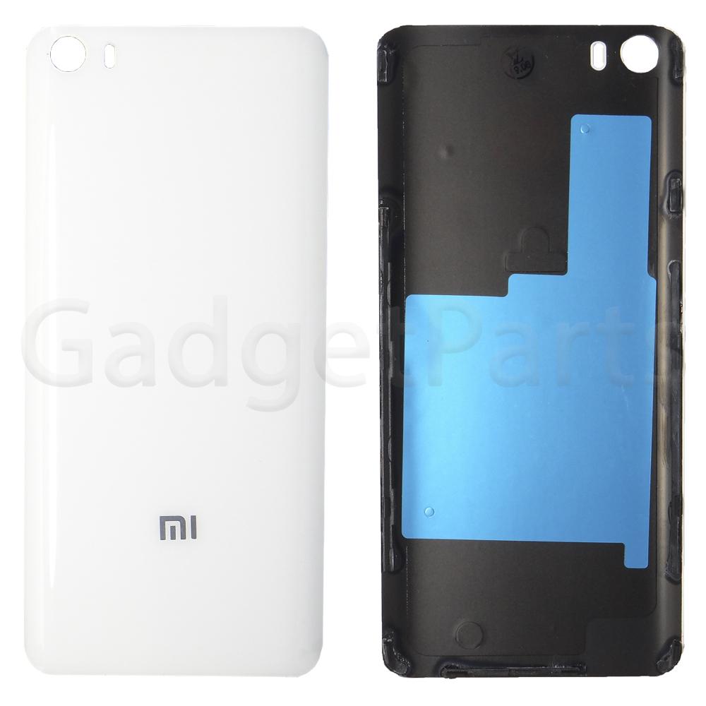 Задняя крышка Xiaomi Mi5 Белая (White) Оригинал