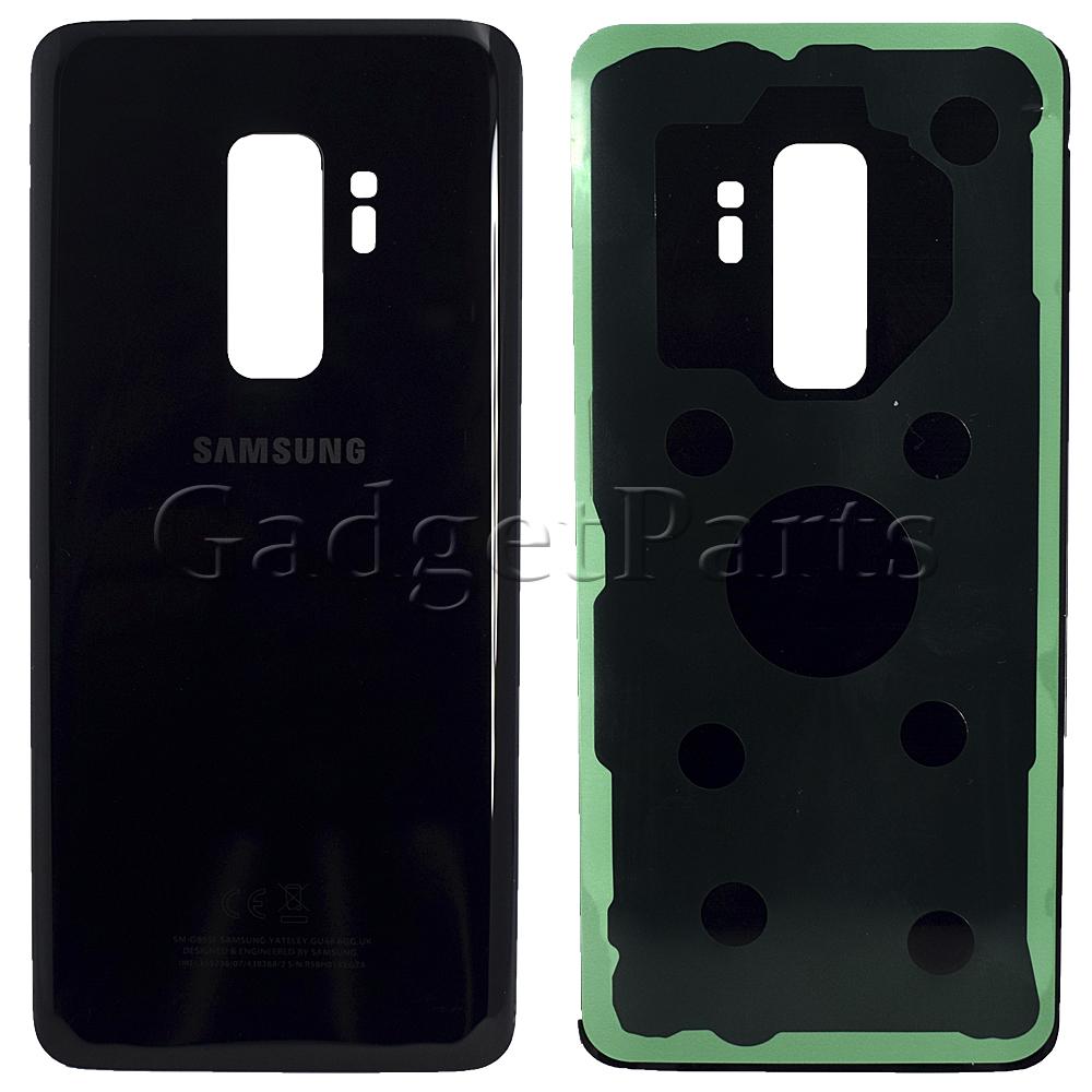 Задняя крышка Samsung Galaxy S9 Plus, G965F Черная (Black)