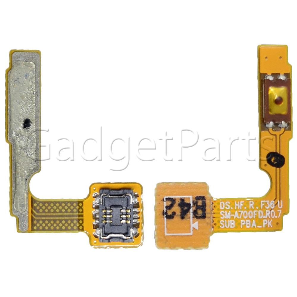 Шлейф кнопки включения (Power) Samsung Galaxy A7 2015, SM-A700F