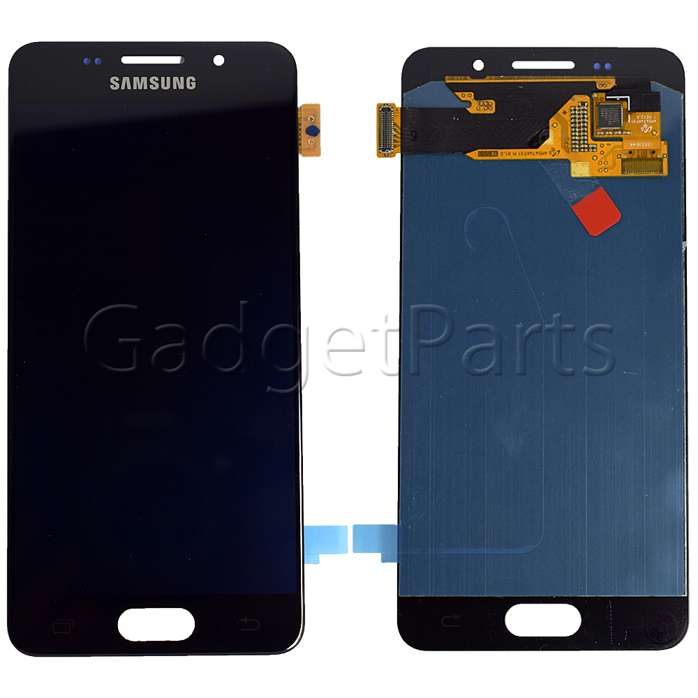 Модуль (дисплей, тачскрин) Samsung Galaxy A3 2016, A310F Черный (Black) Оригинал