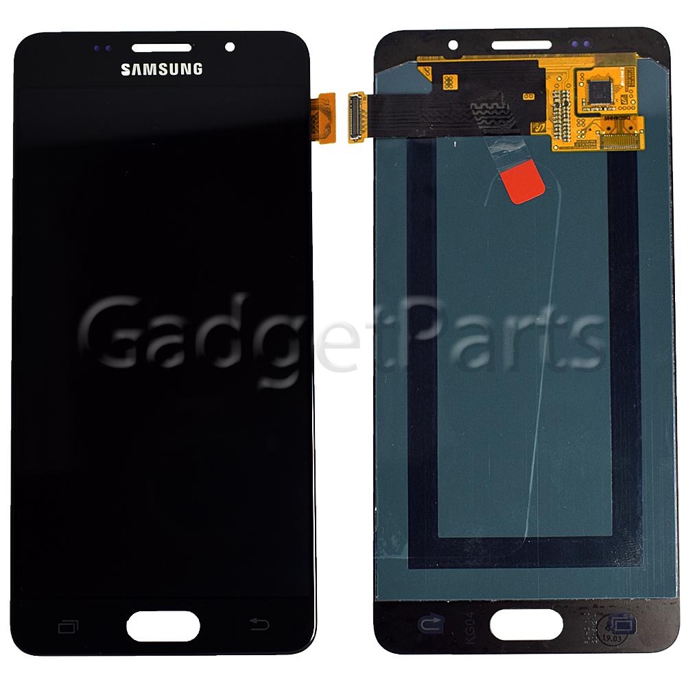 Модуль (дисплей, тачскрин) Samsung Galaxy A5 2016, A510F Черный (Black) Оригинал