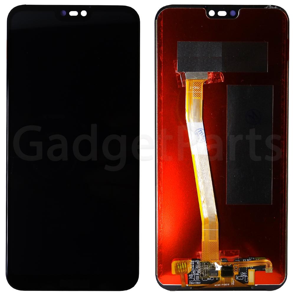 Модуль (дисплей, тачскрин) Huawei Nova 3e, P20 lite Черный (Black)