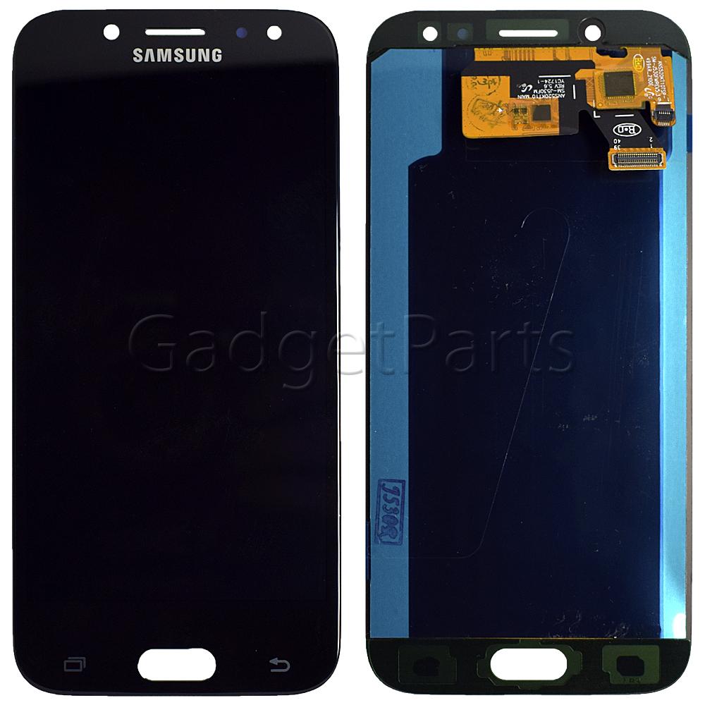 Модуль (дисплей, тачскрин) Samsung Galaxy J5 2017, j530F Черный (Black) Oled