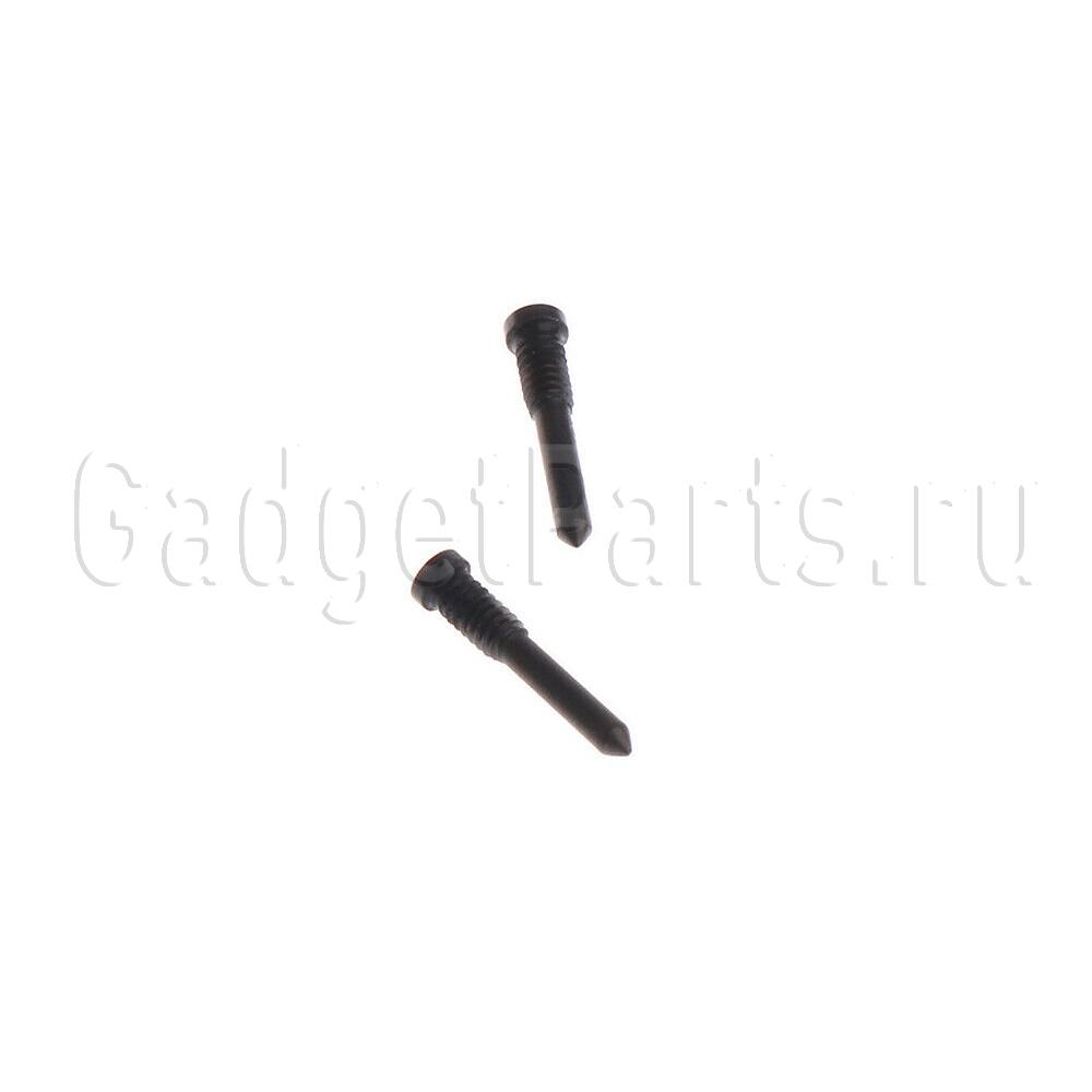 Нижние винты iPhone X Черные (Black)
