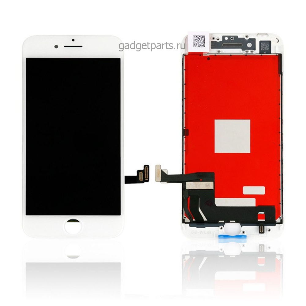 Модуль (дисплей, тачскрин, рамка) iPhone 8 Plus Белый (White) HQ