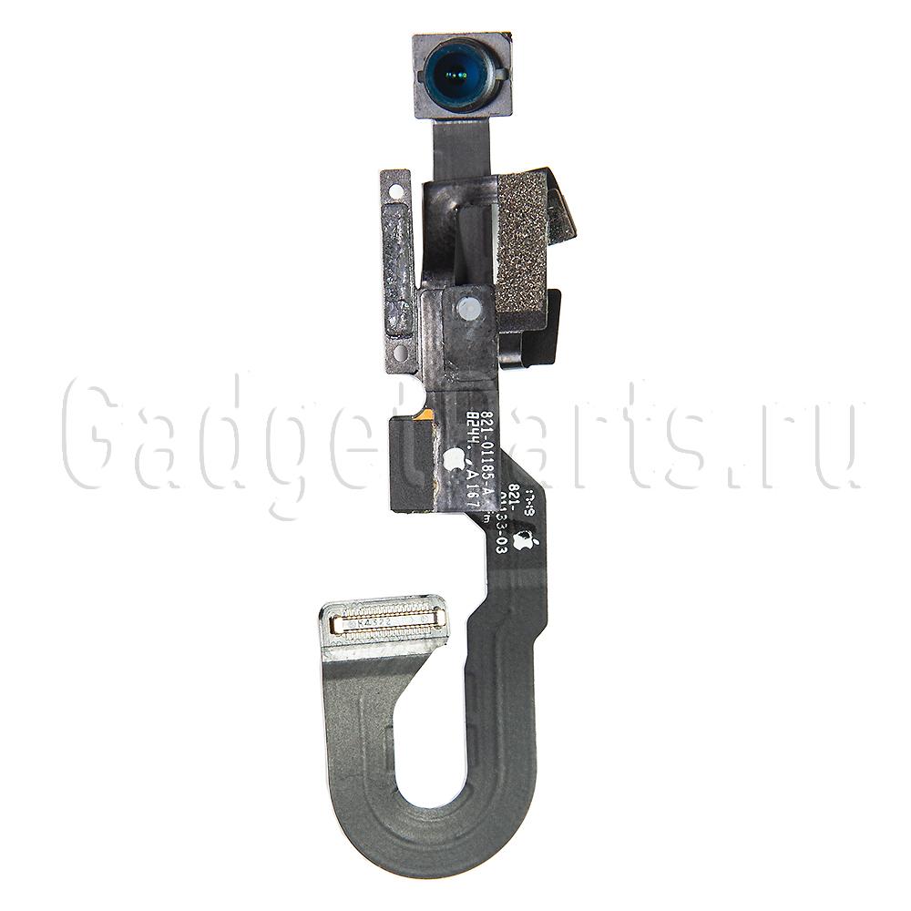 Передняя камера в сборе с шлейфом сенсора и микрофоном iPhone 8 Оригинал